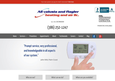 All Volusia & Flagler Heating & Air