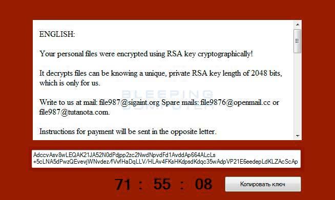 CryptoJoker Prompt - Credits: BleepingComputers.com